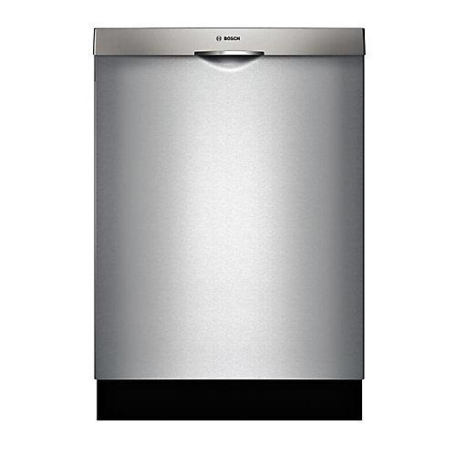 Série 300  Lave-vaisselle de 24 po avec poignée scoop  44 dBA  3e panier standard