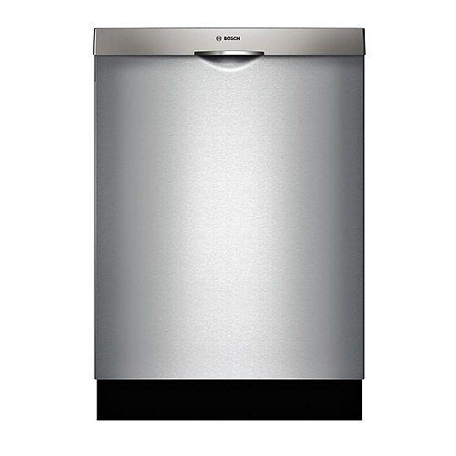 Bosch Série 300  Lave-vaisselle de 24 po avec poignée scoop  44 dBA  3e panier standard