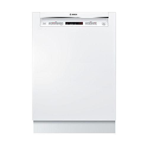 Série 300  Lave-vaisselle de 24 po avec poignée encastrée  44 dBA  3e panier standard