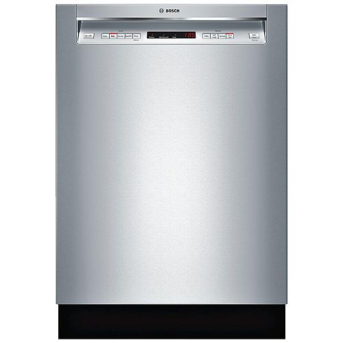 Bosch 300 Series - 24 inch Dishwasher w/ Recessed Handle - 44 dBA - Standard 3rd Rack