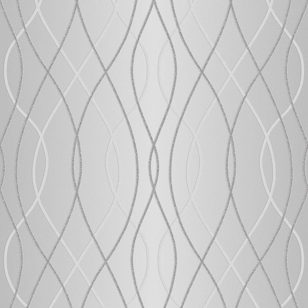 Gold Wallpaper Canada: Superfresco Easy Eternal Forest White/Mica/Beige Wallpaper