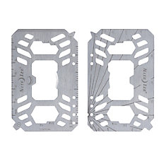 Financial Tool Multi Tool Card - Stainless