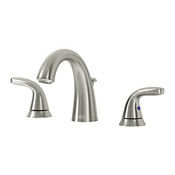 Cadet 8 inch Widespread 2 Handle Faucet, Brushed Nickel