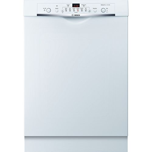 Lave-vaisselle Ascenta Poignée en retrait et contrôles avant - 50 dBA -6+2 BL - ENERGY STAR®