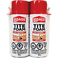 Tite Foam 340g Injection Insulating Foam (2-Pack)
