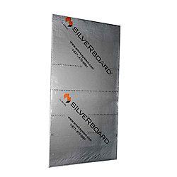 SilveRboard 0,61 m x 25,4 mm x 1,22 m R5 Kit Acoustique d'Isolation - STC 19 (5 Panneaux)