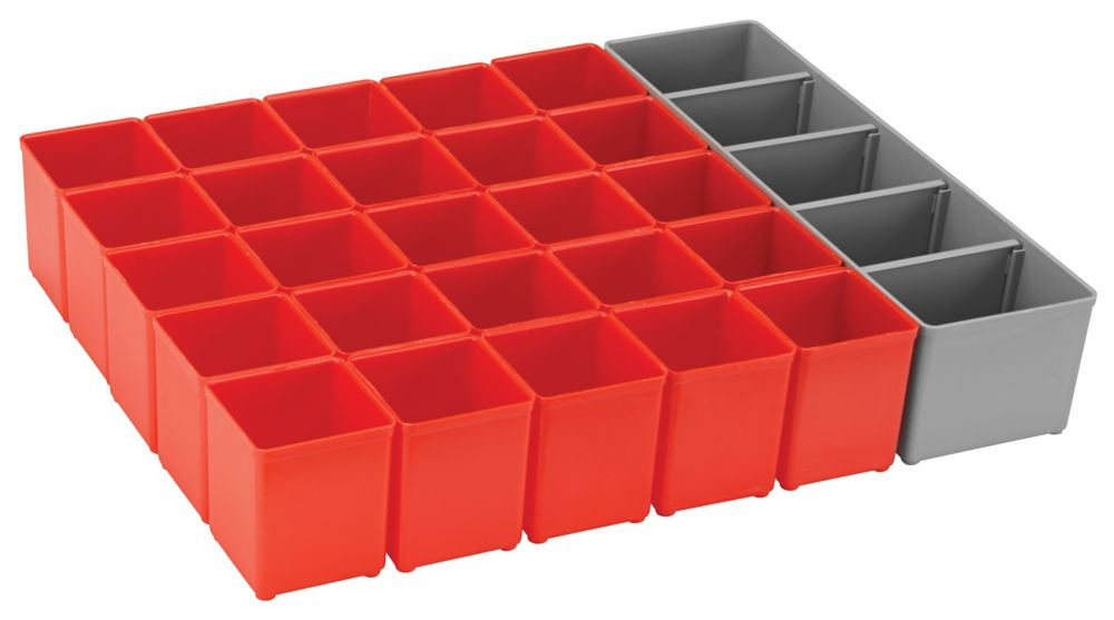Bosch 26 pc. Organizer Insert Set for L-Boxx System