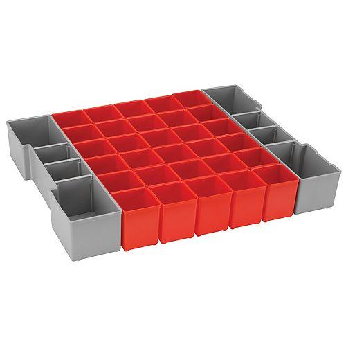 Bosch 32-Piece Organizer Insert Set for L-Boxx System