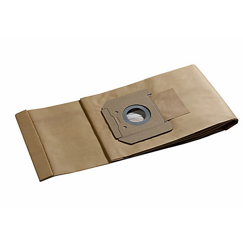 Paper Dust Bag for 14-Gallon Dust Extractors (5-Pack)