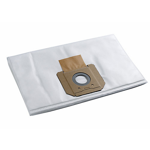 Fleece Dust Bag for 9-Gallon Dust Extractors (5-Pack)