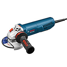 4-1/2 inch Angle Grinder with No-Lock-On Paddle Switch