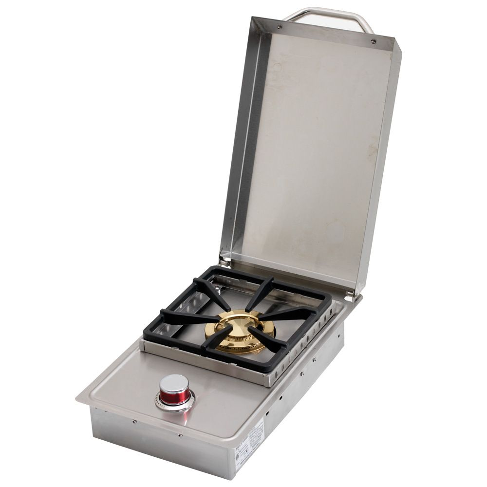 Cal Flame Stainless Steel Built-In Gas Single Side-Burner