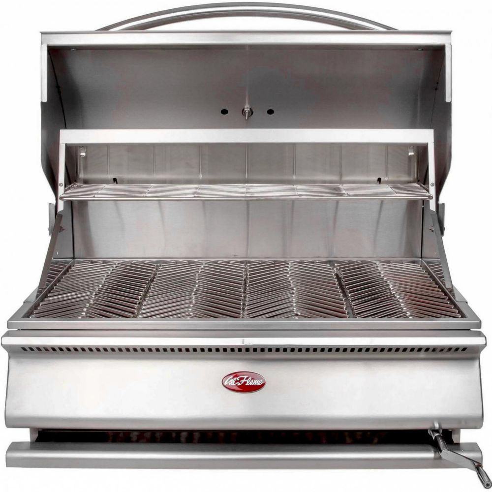 G-Series 31-inch Built-In Stainless Steel Charcoal BBQ
