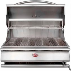 Cal Flame G-Series 31-inch Built-In Stainless Steel Charcoal BBQ