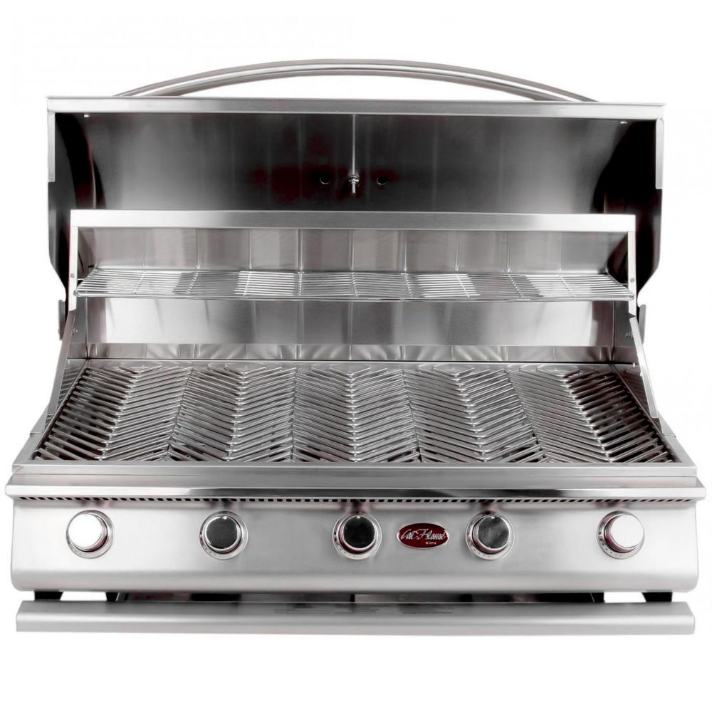 Nexgrill 4 burner propane bbq in stainless steel with side burner the home depot canada - Home depot bbq propane ...