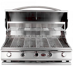 Gourmet Series 5-Burner Built-In Stainless Steel Propane BBQ
