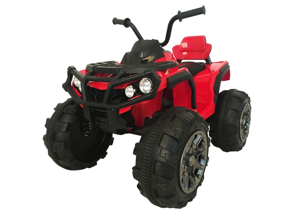 Kidsquad Super Quad 12V Ride-on ATV Toy in Red