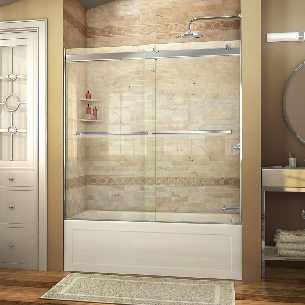 for shower remodel with cut glass bathroom bathtub contractors replace wall half and tub remodeling of between to new door the