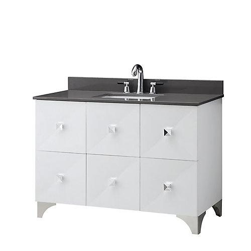 Shalene meuble-lavabo de 48 po