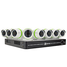 8-Channel 1080p Surveillance System w/ 8 Bullet Cameras and 1TB DVR