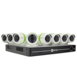 EZVIZ 8-Channel 1080p Surveillance System w/ 8 Bullet Cameras and 1TB DVR