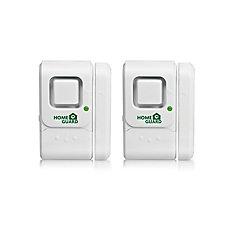 Window and Door Magnetic Alarm - Twin Pack