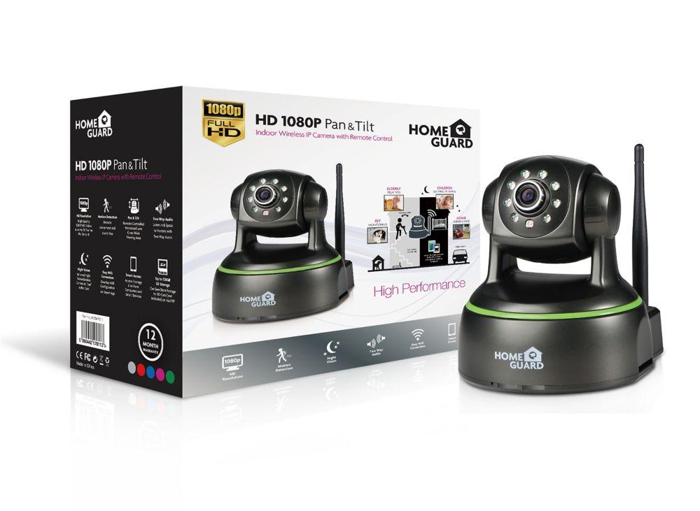 Homeguard 1080p WiFi Pan & Tilt Camera