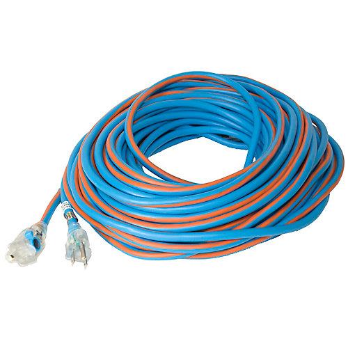 SJEOW 14/3 30.4M (100Feet) Single Lit Locking end - Orange/Blue