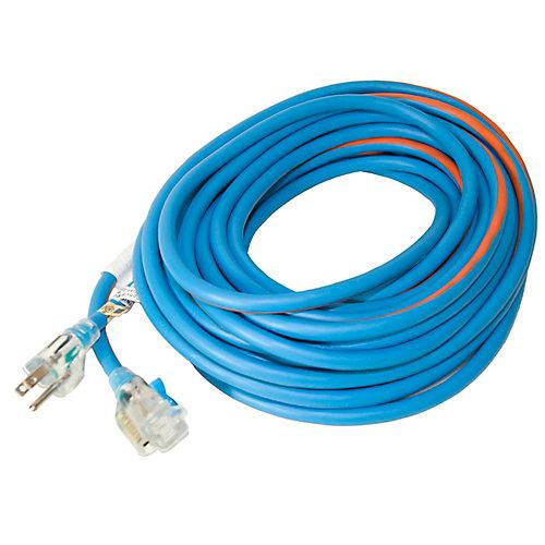 SJEOW 12/3 15.2M (50Feet) Single Lit Locking end - Orange/Blue