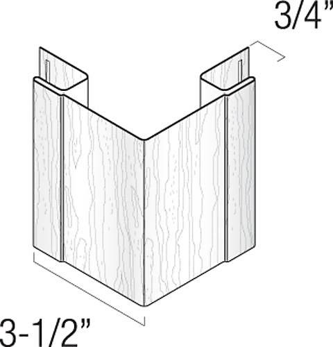 3/4 Inch OSCP Charcoal (10/BOX)