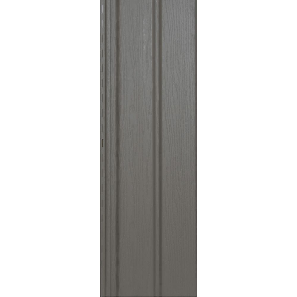 Abtco 10 Inch Vertical Wood Grain Soffit Clay Pc The