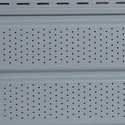 Abtco Ce soffite gris style Double 5 avec effet grain de bois d'Abtco de 10 pouces x 12 pieds est superbe et durera longtemps. Utilisez cette pièce dans votre prochain projet de toiture pour introduire un style simple.