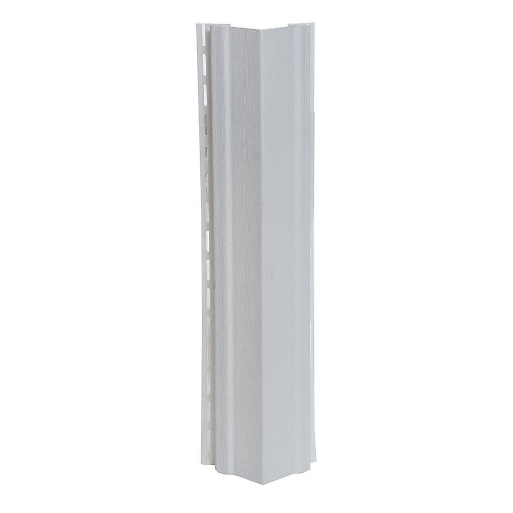 3/4 inch Outside Corner Piece (OSCP) White (pc)