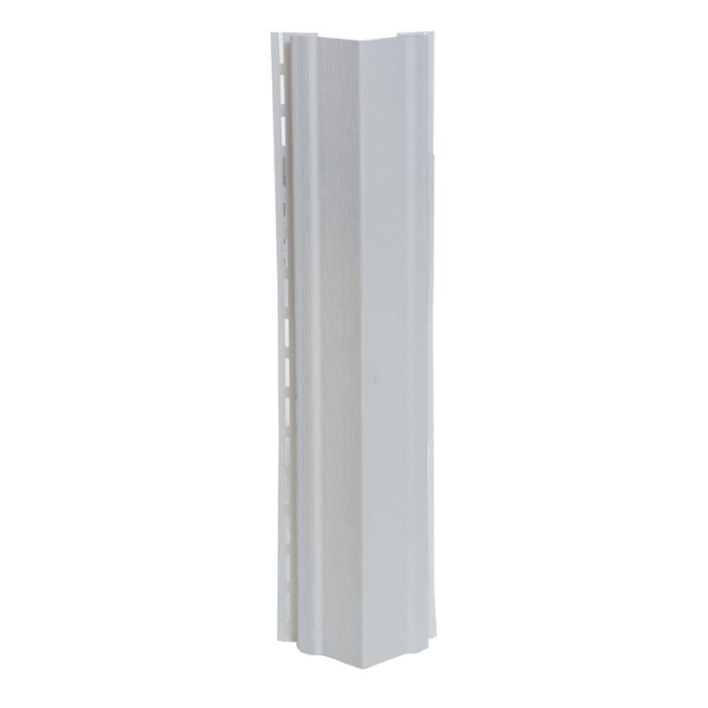 Abtco 3/4 inch Outside Corner Piece (OSCP) White (pc)