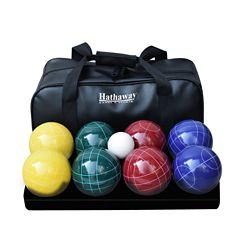 Hathaway Ensemble de boules de Bocce de luxe