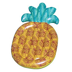 Tropical 86-inch Pineapple Inflatable Pool Float