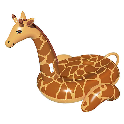 Giant Giraffe 96-inch Inflatable Ride-On Pool Toy
