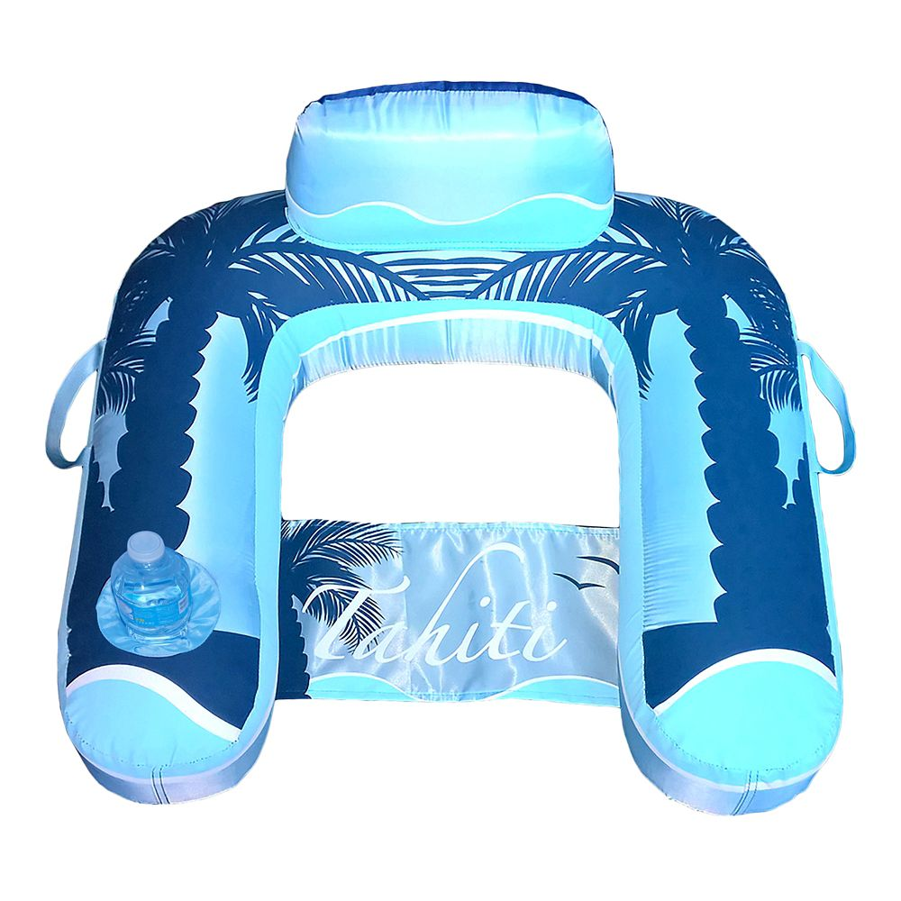 Blue Wave Drift + Escape U-Seat Inflatable Lounger