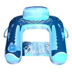 Blue Wave Drift + Escape U-Seat Inflatable Lounger