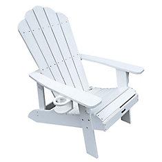 Island Retreat Muskoka Chair in White