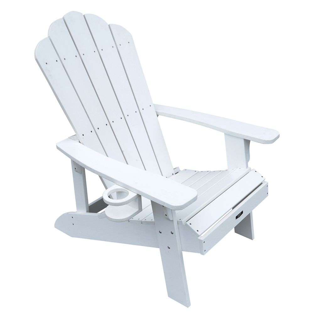 Island Umbrella Island Retreat Muskoka Chair in White