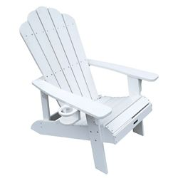 Island Umbrella Island Retreat Muskoka Chair in White