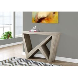 Monarch Specialties Accent Table - 48 Inch L / Dark Taupe Hall Console