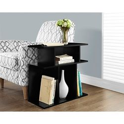 Monarch Specialties Accent Table - 24 Inch H / Black