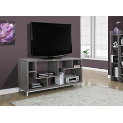 Monarch Specialties Tv Stand - 60 Inch L / Dark Taupe