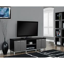 Monarch Specialties Tv Stand - 60-inch L / Black / Grey