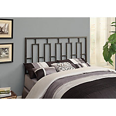 Bed - Queen Or Full Size / Black Head Or Footboard