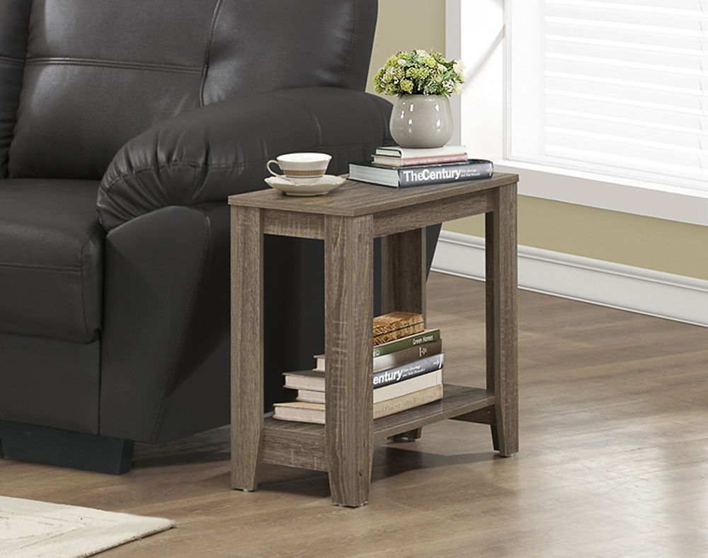 Monarch Specialties Accent Table - Dark Taupe