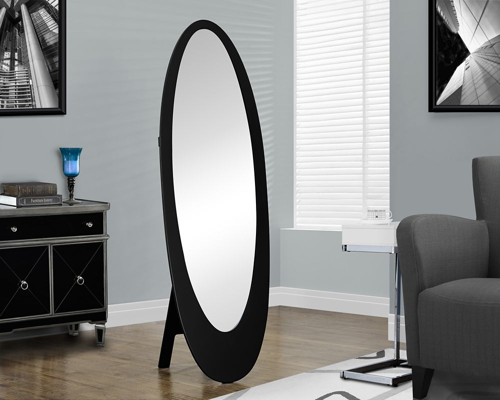 Home Decorators Collection 21 Inch Oval Framed Mirror, Fog ...