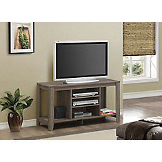 Tv Stand - 48 Inch L / Dark Taupe
